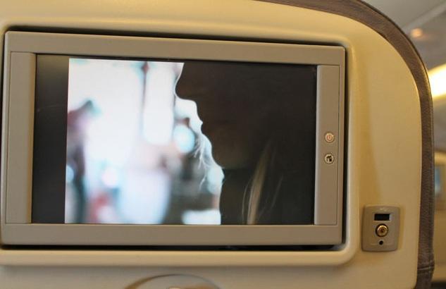 فيلم على متن الطائرة