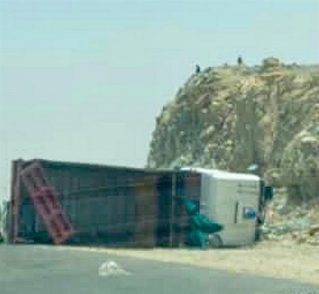 """وفاة 4 أشخاص في حادث على طريق """"بيشة - سبت العلاية"""""""