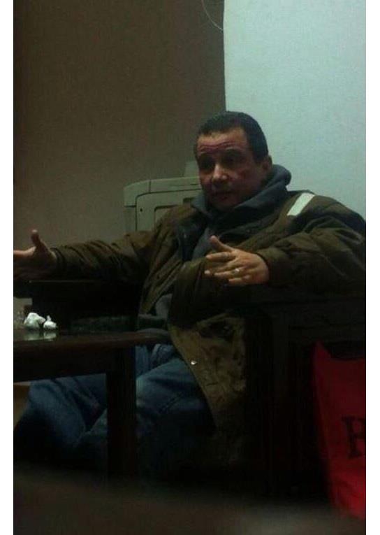 هشام قنديل بعد القبض عليه