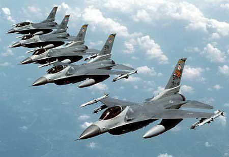 مقاتلات اف-16الامريكية