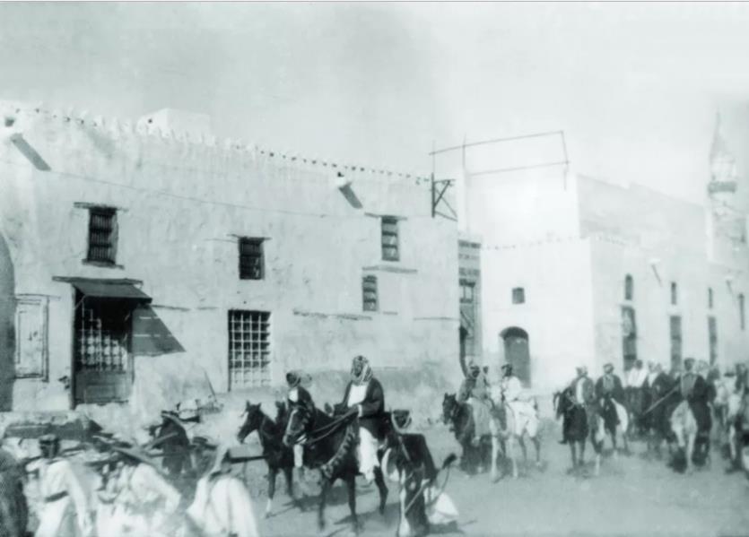 صور نادرة للملك عبدالعزيز في بداية قدومه لمكة المكرمة