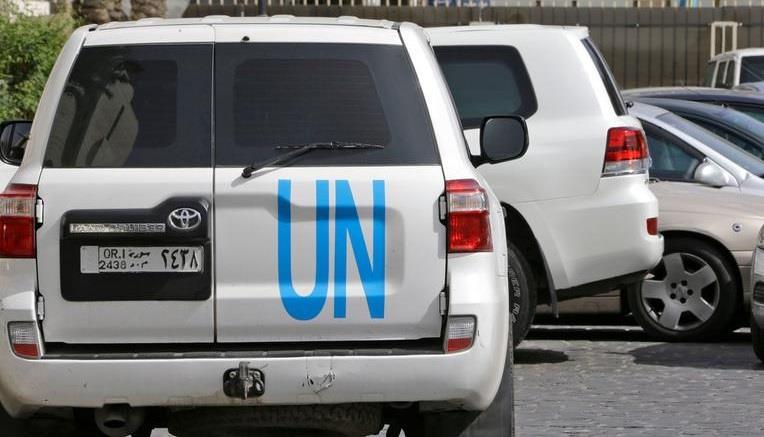 منظمة حظر الكيماوي تأخذ عينات من دوما السورية للتحقيق في الهجوم على المدينة