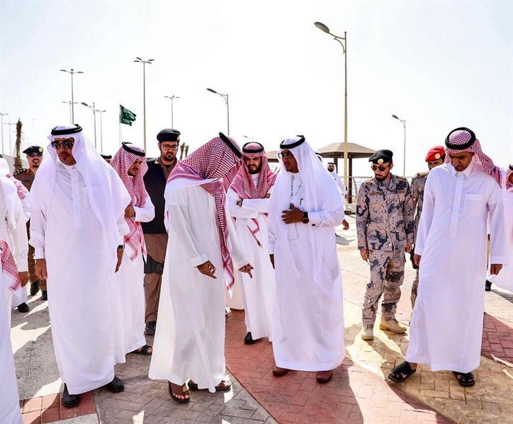 """بعد زيارة عبدالله بن بندر.. إمارة مكة تسحب مشروع تطوير كورنيش """"رابغ"""" من المقاول"""