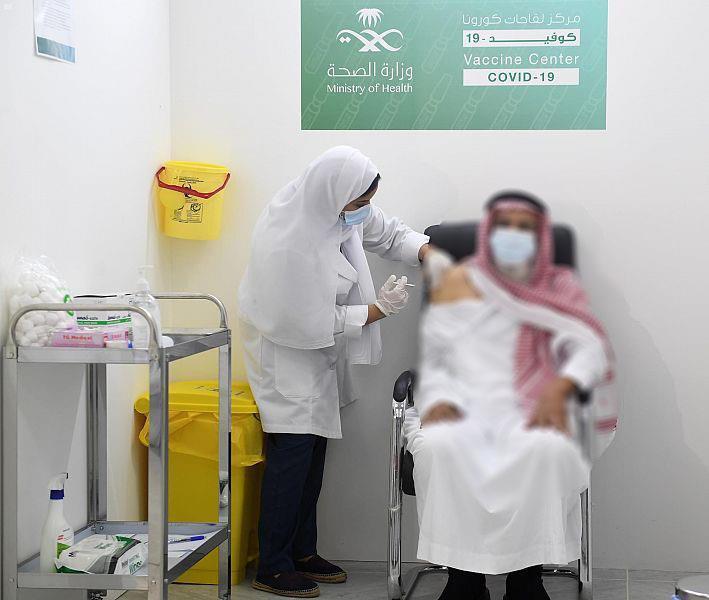 ارتفاع عدد الجرعات المُعطاة من لقاح كورونا في المملكة إلى 15,5 مليون جرعة