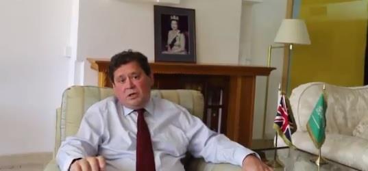 السفير البريطاني نيل كرومبتون