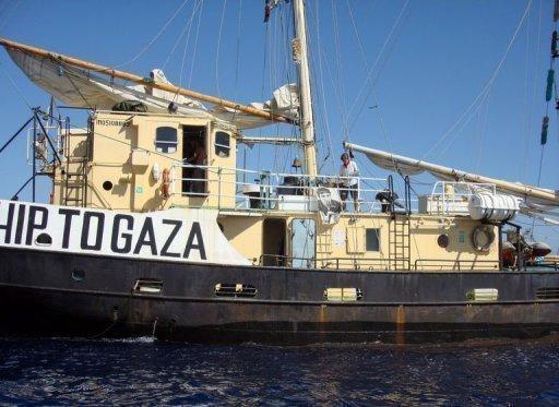 السفينة استيل التي تقل نشطاء مؤيدين للفلسطينيين