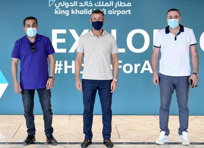 كايشينيا يصل الرياض لقيادة الشباب