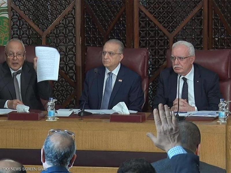 """الجامعة العربية ترفض بـ """"الإجماع"""" خطة السلام الأميركية"""