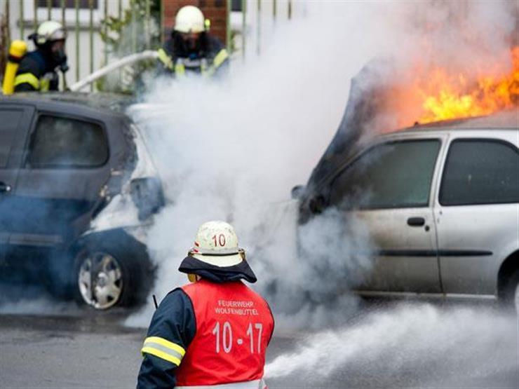 حرائق السيارات