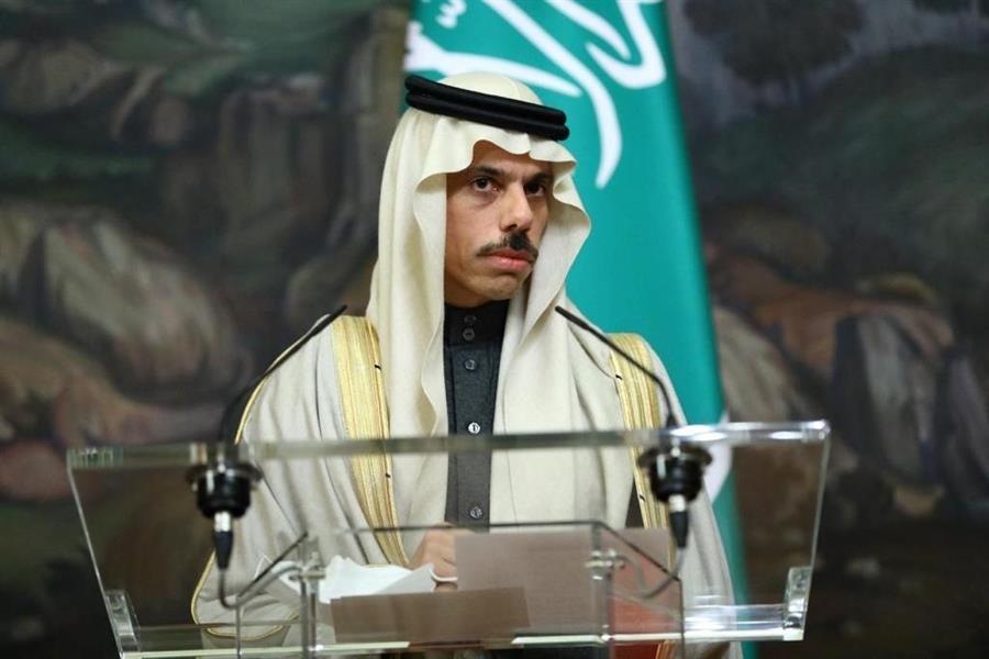 وزير الخارجية الأمير فيصل بن فرحان