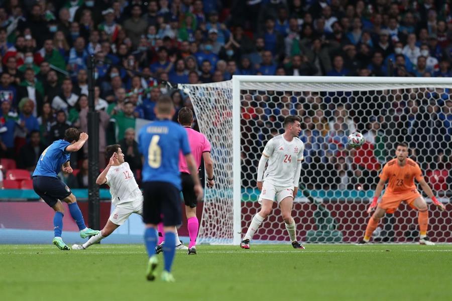 إيطاليا تخطف تأهل صعب لنهائي يورو 2020 على حساب إسبانيا