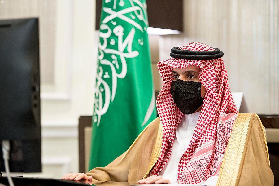 الأمير فيصل بن فرحان بن عبدالله وزير الخارجية التز