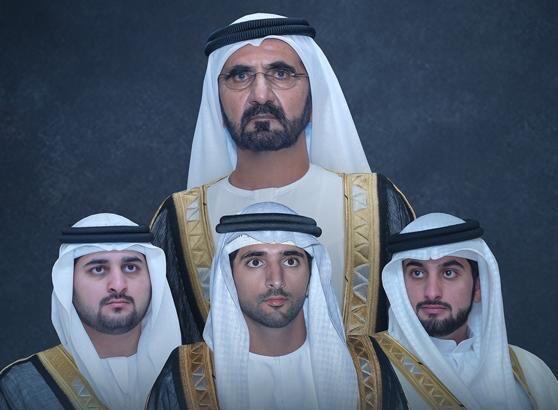 أنجال الشيخ محمد بن راشد