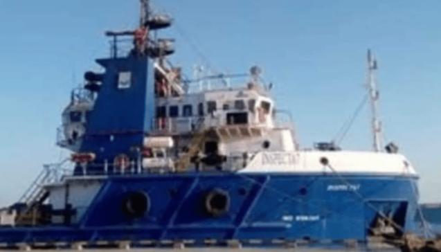 غرق سفينة بترول مصرية في خليج السويس