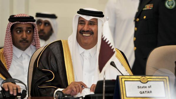 رئيس وزراء ووزير خارجية قطر الشيخ حمد بن جاسم آل ثاني
