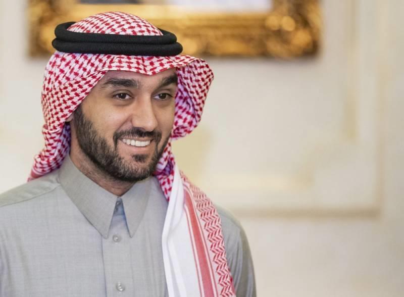 وزير الرياضة، الأمير عبدالعزيز بن تركي الفيصل