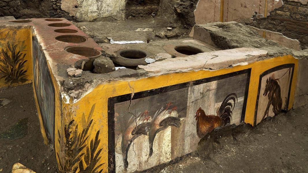مطعم للوجبات السريعة بعهد الرومان.. هذه قائمة مأكولاته
