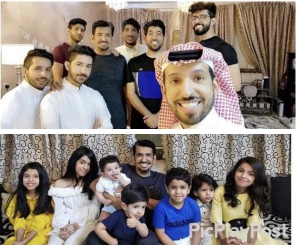 لقيتا تداولاً واسعاً.. عبدالله السدحان ينشر صورتين له برفقة أبنائه وأحفاده