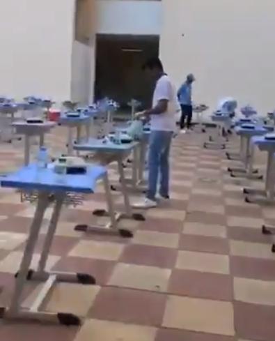 """آلية توزيع وجبات """"إفطار صائم"""" على الوافدين المعزولين بالمدارس"""