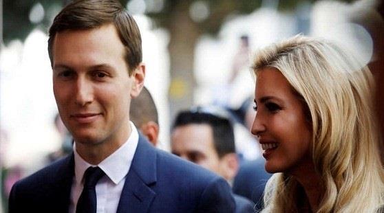 إيفانكا ترامب وزوجها كوشنر