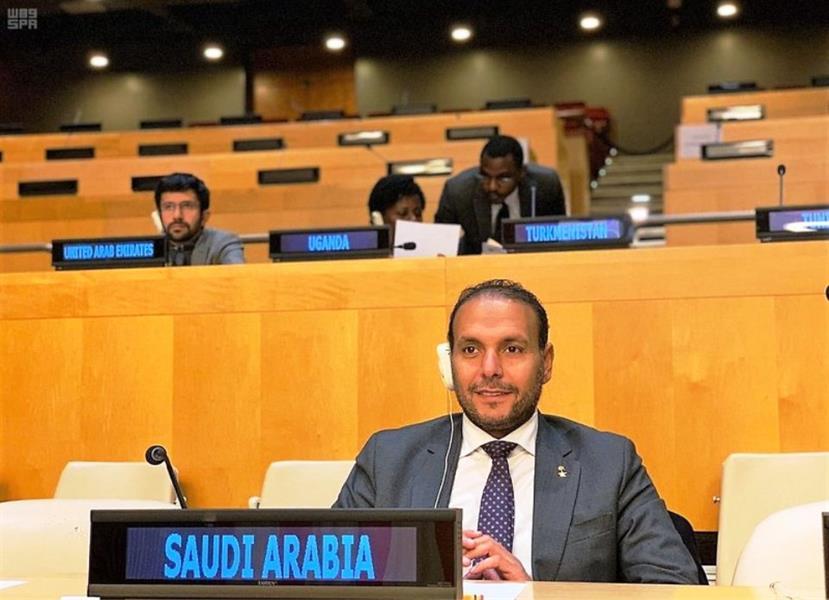 نائب المندوب الدائم للمملكة في الأمم المتحدة الدكتور خالد منزلاوي
