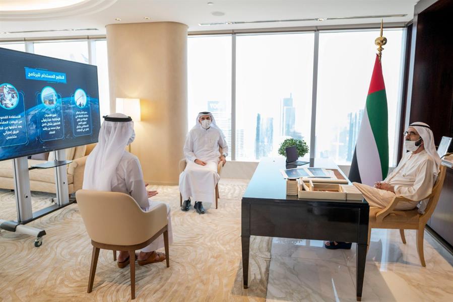 الإمارات تعتمد بناء قمر صناعي جديد يحمل اسم الشيخ محمد بن زايد