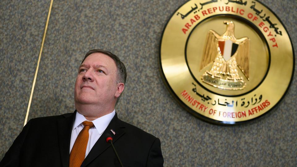وزير الخارجية الأميركي، مايك بومبيو،