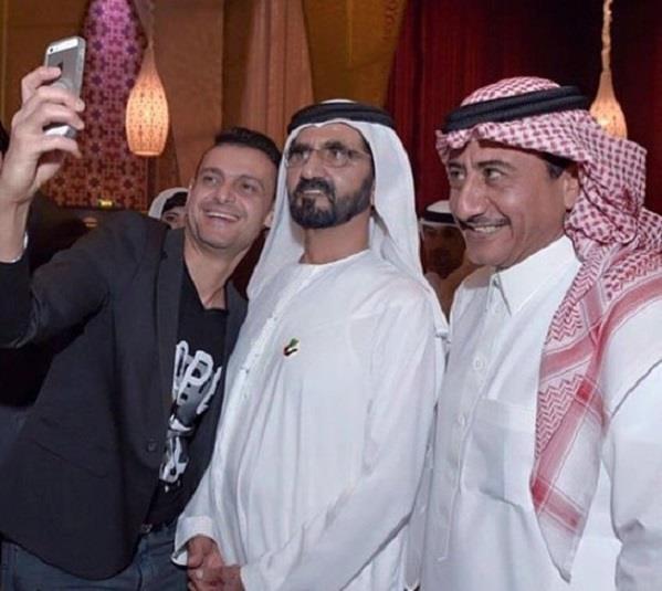 أخبار 24 بالصور ناصر القصبي و رامز جلال في حفل إفطار الشيخ محمد