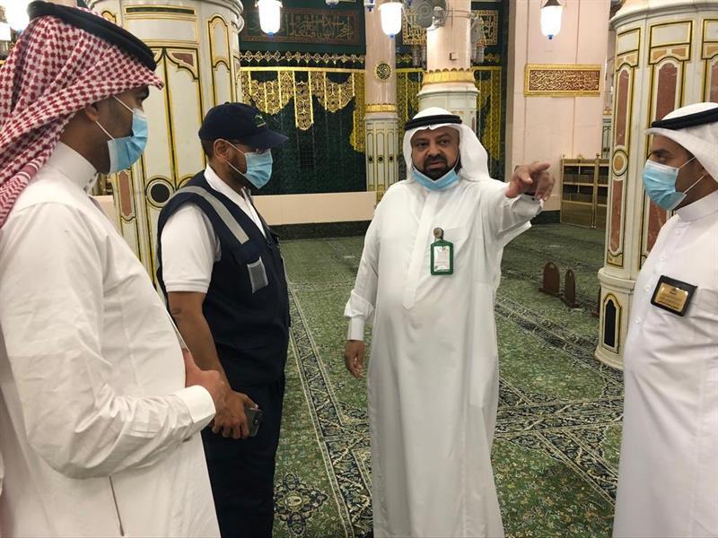 الوكيل المساعد لشؤون المسجد النبوي