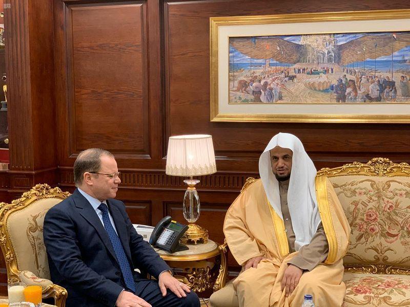 النائب العام يبحث في القاهرة مع نظيره المصري