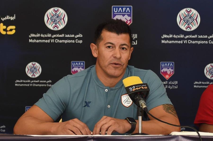 خورخي ألميرون: سيتأهل الشباب لدور الـ 8 بـ البطولة العربية من الأردن