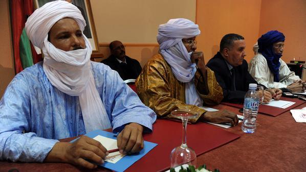 من اجتماع سابق لجماعة أنصار الدين شمالي مالي
