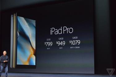 apple ipad pro 2015 price