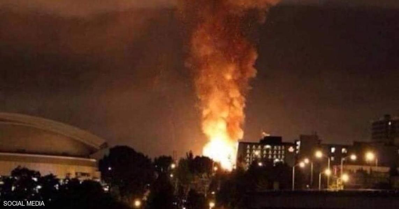 أنباء عن انفجـارات ضخمة في مدينة مشهد الإيرانية