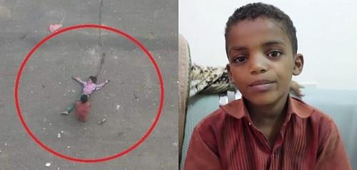 """شقيق """"طفلة الماء"""" يروي تفاصيل لحظات الرعب بعد قنص الحوثيين لأخته"""
