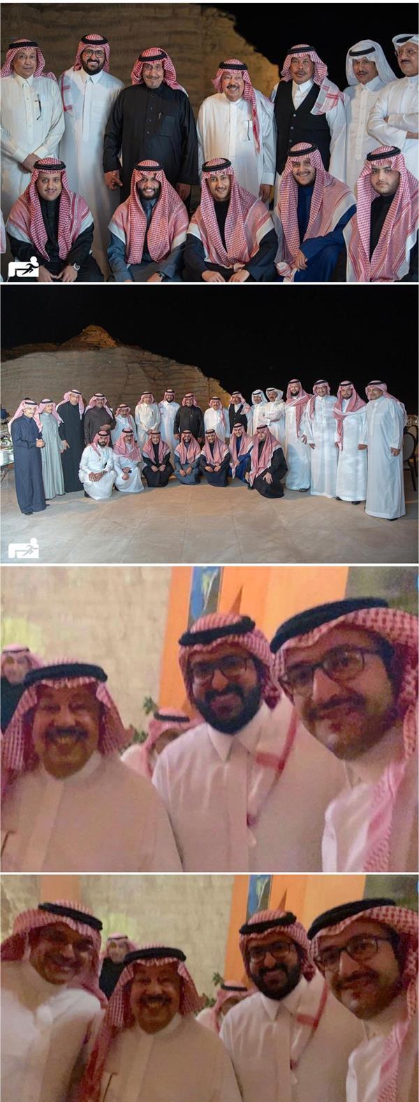 رئيس النصر السابق سعود آل سويلم يحتفل بزواجه بكريمة الأمير منصور بن سعود