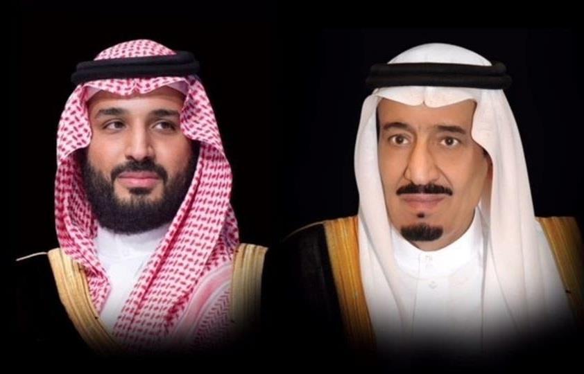 خادم الحرمين الشريفين الملك سلمان وولي العهد الأمير محمد بن سلمان