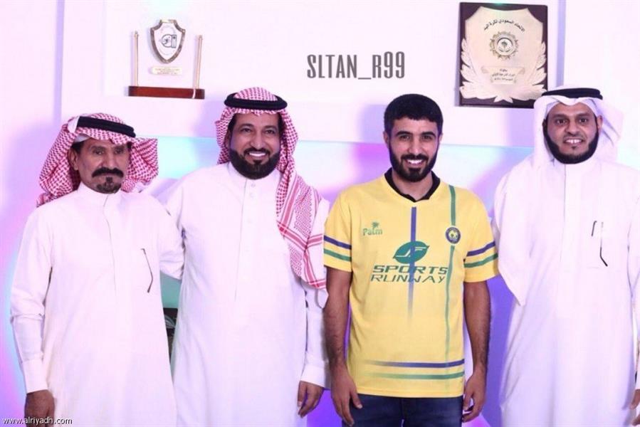 عبدالمجيد الرويلي يعود لتمثيل نادي العروبة