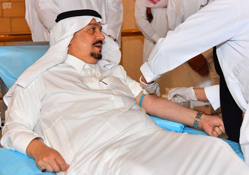 حملة للتبرع بالدم لطالبات شرق الرياض