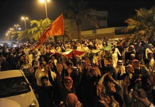 احتجاجات كويتية