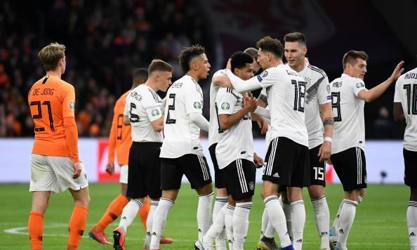ألمانيا تصعق هولندا بثلاثية في تصفيات يورو 2020