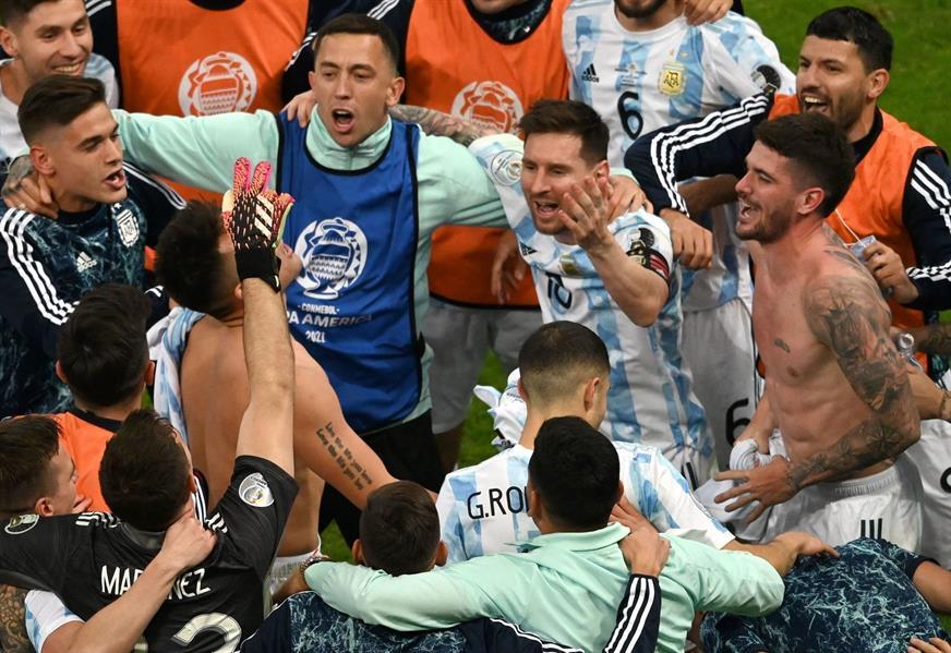 الأرجنتين تتخطى كولومبيا