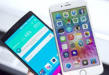 lg vs iphone 6