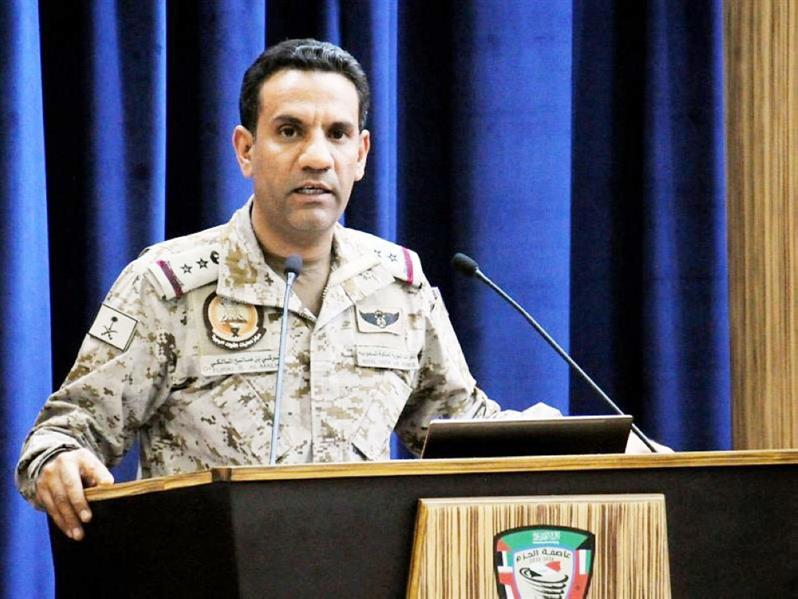 المتحدث الرسمي باسم تحالف دعم الشرعية باليمن العقید تركي المالكي