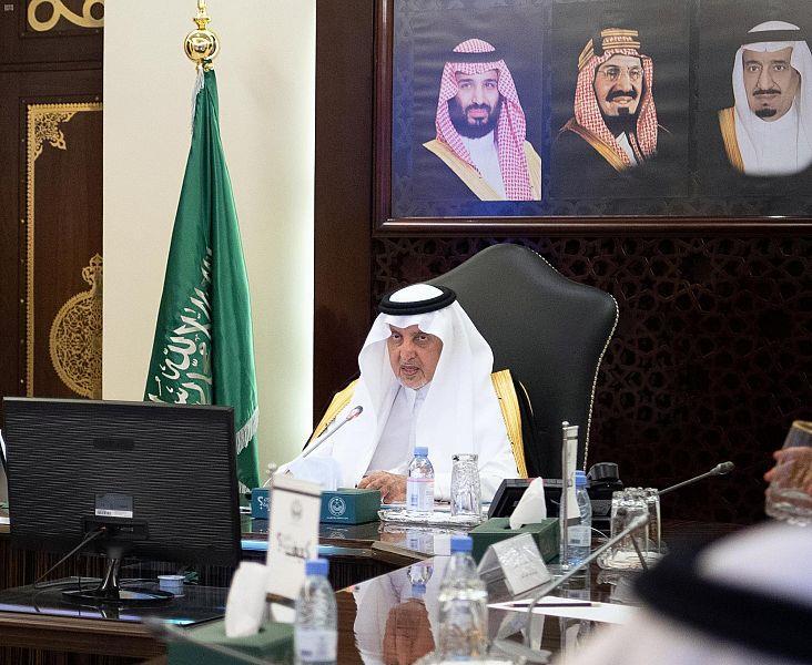 أمير مكة المكرمة يبحث إنشاء مركز للعالم الإسلامي بالفيصلية