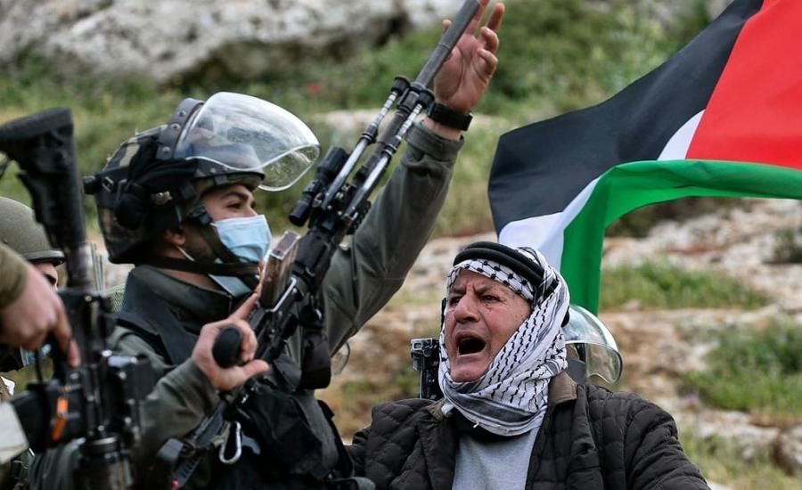 الخارجية الفلسطينية: الاحتلال الوحشي للمسيرات السلمية يقمع أبشع أشكال العنصرية والفاشية