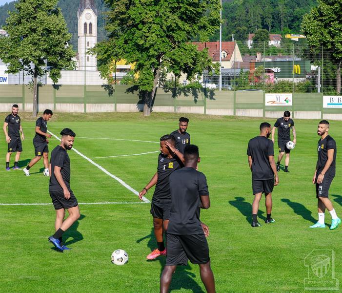تدريبات الاتحاد في معسكر النمسا
