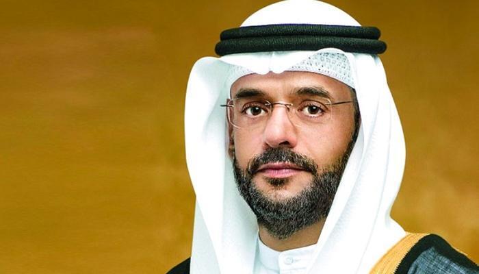 الشيخ سلطان بن محمد يهنئ الشارقة على التتويج
