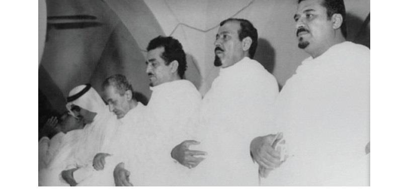 """الملوك """"فيصل وفهد وعبدالله"""" والأمير سلطان"""