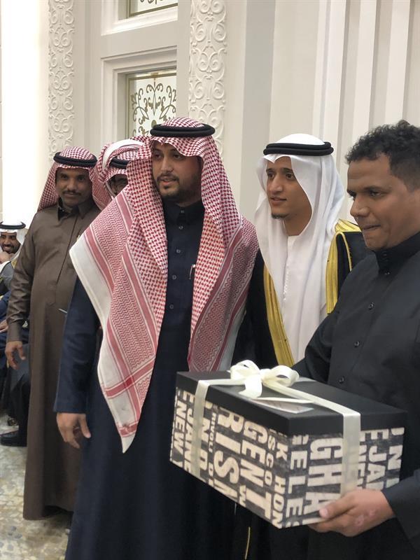حفل زواج لاعب الهلال السابق عموري
